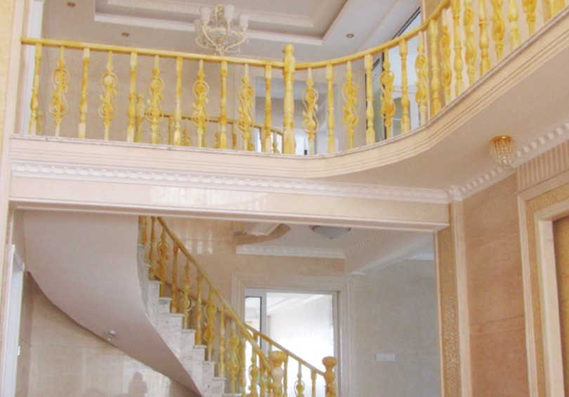 仿玛瑙楼梯扶手的作用可大呢